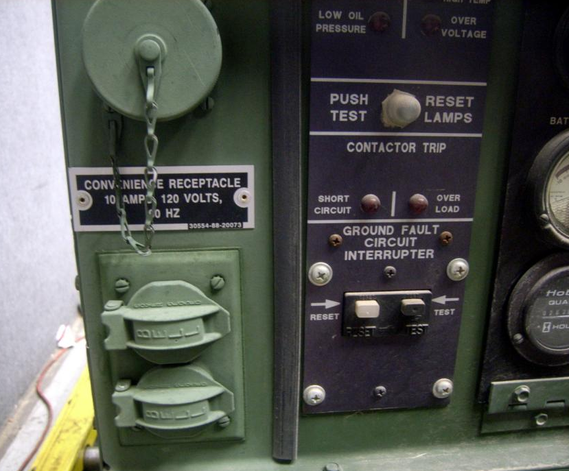 MEP-802A-Military-Diesel-Generator-MEP802A-convenience-outlet